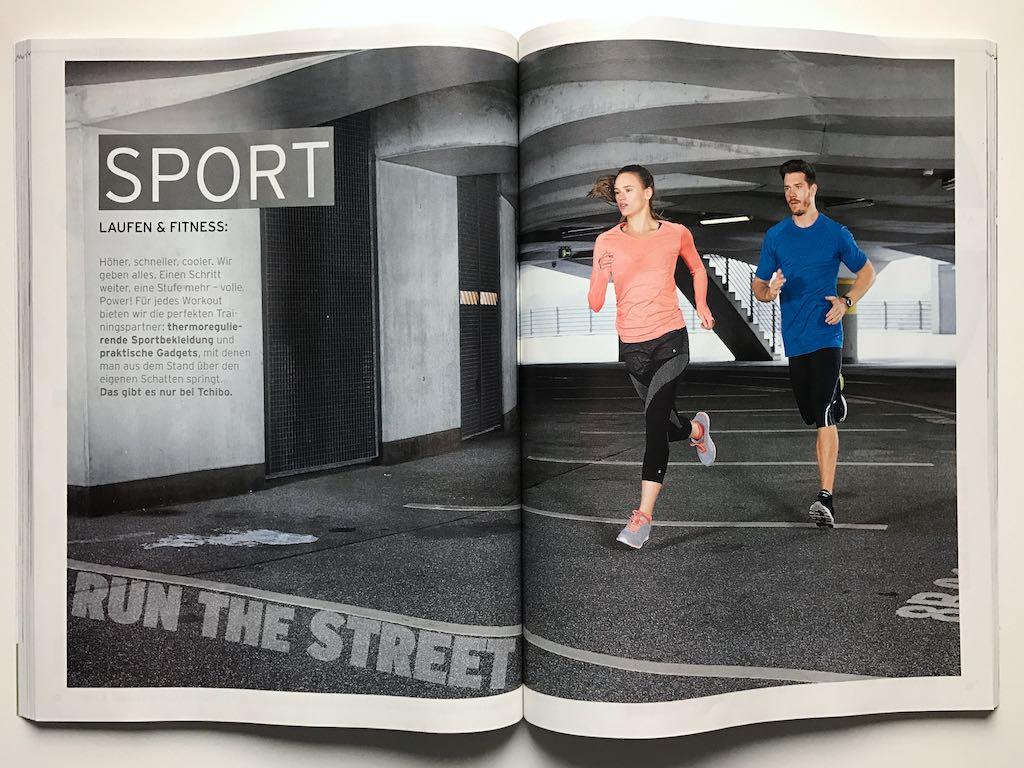 Tchibo Katalog März 2017 Laufen und Fitness